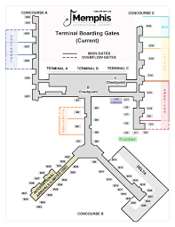 Philadelphia International Airport Map Fly Through Animation Shows Memphis International Airport Remodel