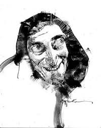 caricature by paul hutchinson via behance caricatures