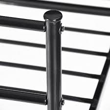 aingoo structure stainless steel single bed frame good looking and