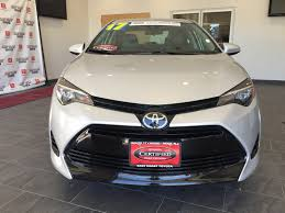 east coast toyota used cars certified pre owned 2017 toyota corolla le 4dr car in wood ridge