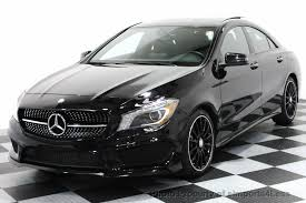 mercedes 250 black 2016 used mercedes certified cla250 4matic amg sport awd