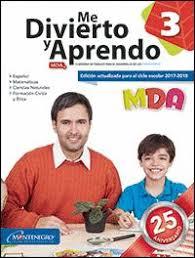 examen montenegro 3 grado primaria libros de montenegro editores librería virgo