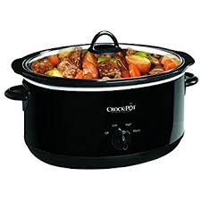 crock pot black friday sales amazon com hamilton beach 33182a slow cooker 8 quart kitchen