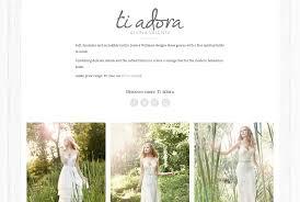 bridal websites wedding dress shop website pollywiggle web design marketing