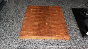 Cutting Board Kitchen Countertop - cutting board replaces hotglass kitchen countertop youtube