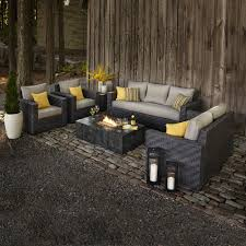 Lowes Wicker Patio Furniture - patio allen roth umbrella lowes patio dining sets allen