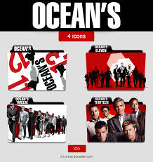 folder icons ocean u0027s trilogy collection pack by it s a trap on