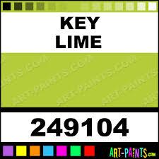 key lime green lime color