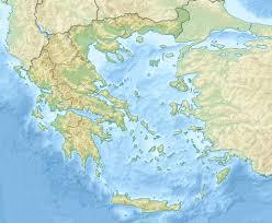 Kefalonia Greece Map by 1999 Athens Earthquake Wikipedia