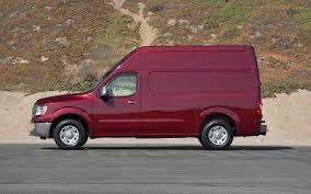 nissan cargo van 2012 2012 nissan nv3500 v8 sv first test truck trend