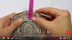 tutorial kerajinan tangan dari kertas gulung sediakan kertas koran dan lem kayu mungkin ini langkah awal anda