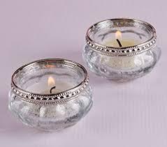 silver tea light holders petite glass tea light holder with silver fleck set of 4 kate aspen