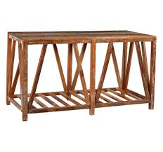 Reclaimed Wood Console Table Peyton Reclaimed Wood Console Table