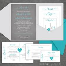 wedding pocket invitations pocket wedding invites jeneze designs