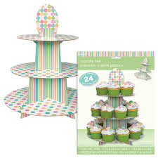 pastel baby cupcake stand uk baby shower co ltd
