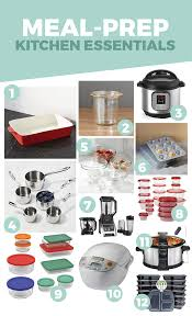 meal prep kitchen essentials to make food prep a breeze fit