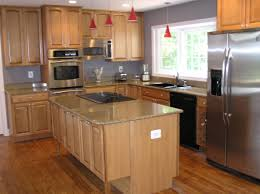 gray kitchen walls with oak cabinets attachment kitchen ideas with light brown cabinets 2358