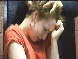 women haircutting in prison haircut net charity auction