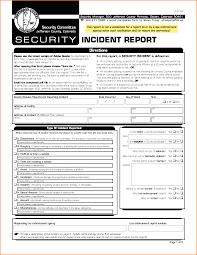 template incident report form security incident report captureir example jpg loan application form uploaded by nasha razita