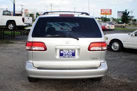 toyota auto sales 2002 toyota sienna symphony silver used mini van sale