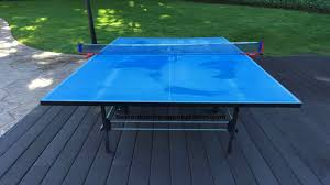 butterfly outdoor rollaway table tennis butterfly tw24b outdoor playback rollaway table tennis table youtube