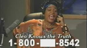 Miss Cleo Meme - miss cleo infomercial caller gets insulted video dailymotion