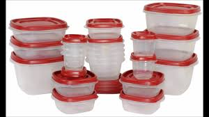 Food Storage Container Sets - rubbermaid easy find lid food storage container youtube