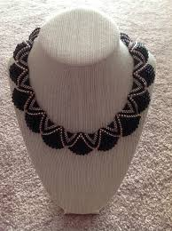 another cellini flat spiral necklace in neutral colors crafts