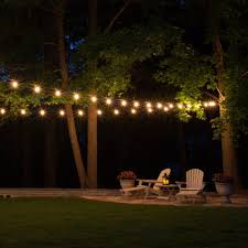 Patio Lights String Ideas Backyard Festoon Lighting Poles How To Hang String Lights In