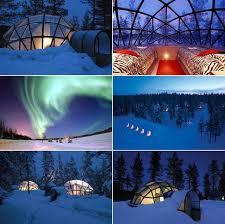 sleep under the northern lights rent a glass igloo in finland and sleep under the northern lights