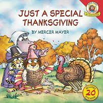 thanksgiving children s book children s book review just a special thanksgiving by mercer mayer