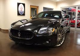 maserati quattroporte matte black used 2010 maserati quattroporte stock p3845a ultra luxury car