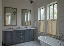 Window Treatment Ideas For Bathroom Ideas For Bathrooms Vanity Design Mirrors Window Treatment