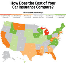 Expense Insurance Rates by Where You Live Has A Effect On Car Insurance Rates