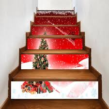 santa sleigh for sale 2018 christmas tree and santa sleigh pattern decorative stair