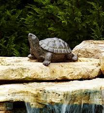 23 5 in turtle statue
