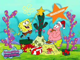 cartoon chritmas spongebob 1600x1200 wallpapers 1600x1200