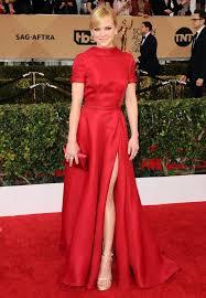 Kristen Wiig Red Flag The Sag Awards 2016 Red Carpet Fashion Highlights Stylist