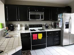 black kitchen cabinets color u2014 smith design