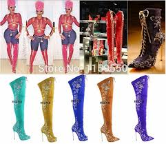 womens thigh high boots size 12 boot shoes for picture more detailed picture about