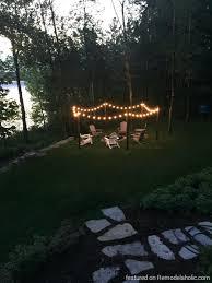 backyard string lights walmart home outdoor decoration
