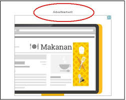 membuat iklan tas cara membuat kata advertisement diatas iklan google adsense gividia