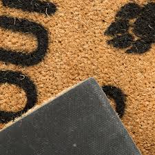 Coir Doormat Wipe Your Paws Buy Artsy Doormats Wipe Your Paws Door Mat Amara