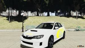 2011 subaru wrx modified 2011 subaru impreza wrx sti subaru world rally team for gta 4