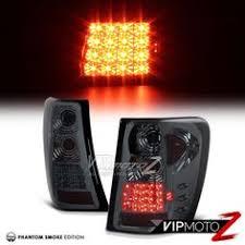 2002 jeep grand cherokee tail light 99 04 jeep grand cherokee wj l r halo projector chrome headlight led