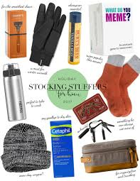 Stocking Meme - stocking stuffers for him 2017 abby saylor armbruster