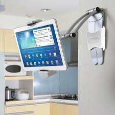 the under cabinet ipad dock hammacher schlemmer
