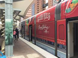 light rail holiday schedule ride in holiday style on a valley metro light rail or bus