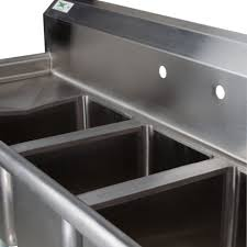 used 3 compartment stainless steel sink the best compartment stainless steel commercial sink and faucet pic