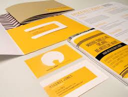 Portfolio Folder For Resume Self Promotion Mikenzi Jones Design